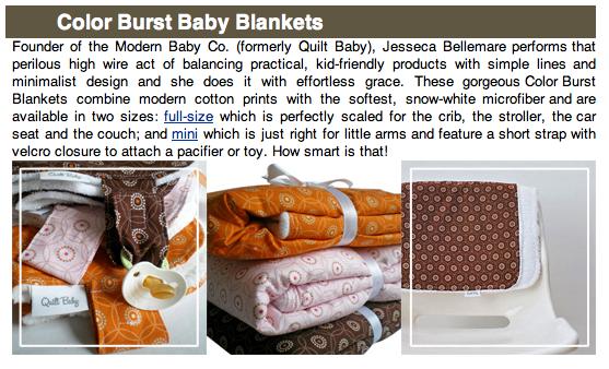 mahar dry goods modern baby blanket
